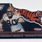 2001 Titanium Post Season #P21 Justin Smith RC - Cincinnati Bengals 086/795