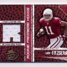 2004 Playoff Hogg Heaven Football #151 Larry Fitzgerald RC - Cardinals Game-Used Jersey /750