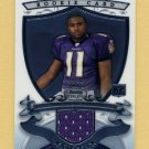 2007 Bowman Sterling Football #TS1 Troy Smith RC - Baltimore Ravens Game-Used Jersey