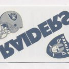 2008 Score Football Donruss Decals Tattoos #OR Oakland Raiders