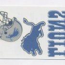 2008 Score Football Donruss Decals Tattoos #DL Detroit Lions