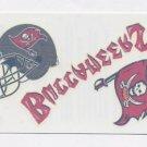 2008 Score Football Donruss Decals Tattoos #TB Tampa Bay Buccaneers
