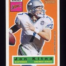 2001 Topps Heritage Football #086 Jon Kitna - Cincinnati Bengals