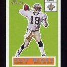 2001 Topps Heritage Football #085 Jeff Blake - New Orleans Saints