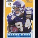 2001 Topps Heritage Football #070 Randy Moss - Minnesota Vikings