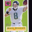 2001 Topps Heritage Football #066 Mark Brunell - Jacksonville Jaguars