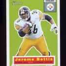 2001 Topps Heritage Football #059 Jerome Bettis - Pittsburgh Steelers