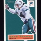 2001 Topps Heritage Football #058 Zach Thomas - Miami Dolphins