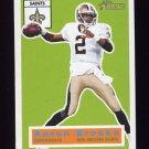 2001 Topps Heritage Football #057 Aaron Brooks - New Orleans Saints