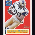 2001 Topps Heritage Football #032 Isaac Bruce - St. Louis Rams