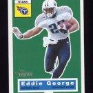 2001 Topps Heritage Football #026 Eddie George - Tennessee Titans