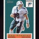 2001 Topps Heritage Football #019 Jay Fiedler - Miami Dolphins