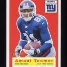 2001 Topps Heritage Football #006 Amani Toomer - New York Giants