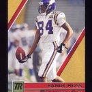 2001 Topps Reserve Football #029 Randy Moss - Minnesota Vikings