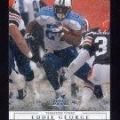 2001 Upper Deck Football #166 Eddie George - Tennessee Titans