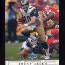 2001 Upper Deck Football #139 Trent Green - Kansas City Chiefs