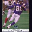 2001 Upper Deck Football #093 Troy Walters - Minnesota Vikings