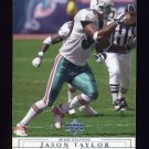 2001 Upper Deck Football #086 Jason Taylor - Miami Dolphins