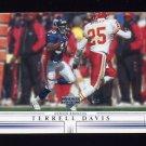 2001 Upper Deck Football #052 Terrell Davis - Denver Broncos