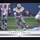 2001 Upper Deck Football #047 Emmitt Smith - Dallas Cowboys