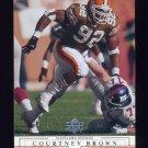 2001 Upper Deck Football #045 Courtney Brown - Cleveland Browns