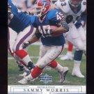2001 Upper Deck Football #019 Sammy Morris - Buffalo Bills