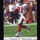 2001 Upper Deck Football #010 Terance Mathis - Atlanta Falcons