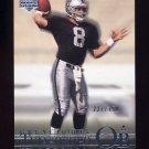 2001 Upper Deck Legends Football #153 Marques Tuiasosopo RC - Oakland Raiders 227/750