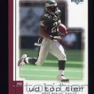 2001 Upper Deck Top Tier Football #128 Duce Staley - Philadelphia Eagles