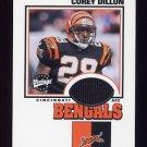 2001 Upper Deck Vintage Threads #CDVT Corey Dillon - Cincinnati Bengals Game-Used Jersey