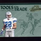 2002 Absolute Memorabilia Football Tools Of The Trade #TT01 Emmitt Smith - Dallas Cowboys