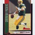 2002 Bowman Football #075 Brett Favre - Green Bay Packers