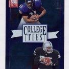 2002 Donruss Elite College Ties #CT21 Jamal Lewis / Charlie Garner 1412/1600