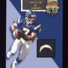 2002 Flair Football Jersey Heights #11 Doug Flutie - San Diego Chargers