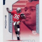 2002 Flair Football #132 Travis Stephens RC - Tampa Bay Buccaneers 1160/1250