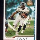2002 Fleer Focus JE Football #084 Fred Taylor - Jacksonville Jaguars