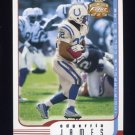 2002 Fleer Focus JE Football #081 Edgerrin James - Indianapolis Colts
