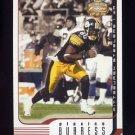 2002 Fleer Focus JE Football #080 Plaxico Burress - Pittsburgh Steelers