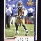 2002 Fleer Focus JE Football #075 Isaac Bruce - St. Louis Rams