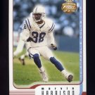 2002 Fleer Focus JE Football #071 Marvin Harrison - Indianapolis Colts