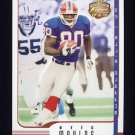 2002 Fleer Focus JE Football #041 Eric Moulds - Buffalo Bills