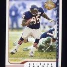 2002 Fleer Focus JE Football #038 Anthony Thomas - Chicago Bears