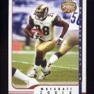 2002 Fleer Focus JE Football #030 Marshall Faulk - St. Louis Rams