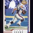 2002 Fleer Focus JE Football #008 Troy Brown - New England Patriots