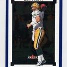 2002 Fleer Premium Football #058 Brett Favre - Green Bay Packers