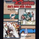 2002 Fleer Throwbacks On 2 Canton #5 Ricky Williams / Earl Campbell