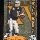 2002 Fleer Throwbacks Super Stars #4 Jim Plunkett - Oakland Raiders