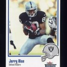 2002 Fleer Throwbacks Football #096 Jerry Rice - Oakland Raiders