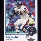 2002 Fleer Throwbacks Football #086 Brian Urlacher - Chicago Bears