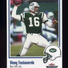 2002 Fleer Throwbacks Football #074 Vinny Testaverde - New York Jets